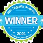 Hot Diggity Awards Winner Seal 2021
