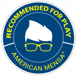 Mensa Recommended for Play Seal